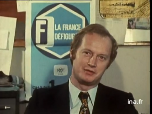 Le journaliste Michel Bériot, co-créateur et rapidement principal présentateur de l'émission.